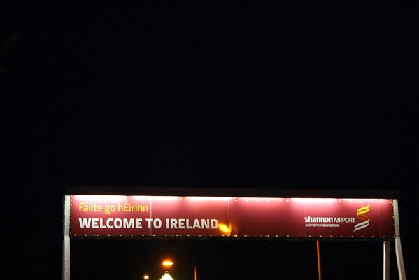 "IRELAND....""Drive left, look Right"""